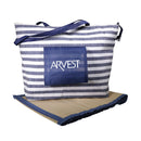 Beach Bag with Mat - Blue