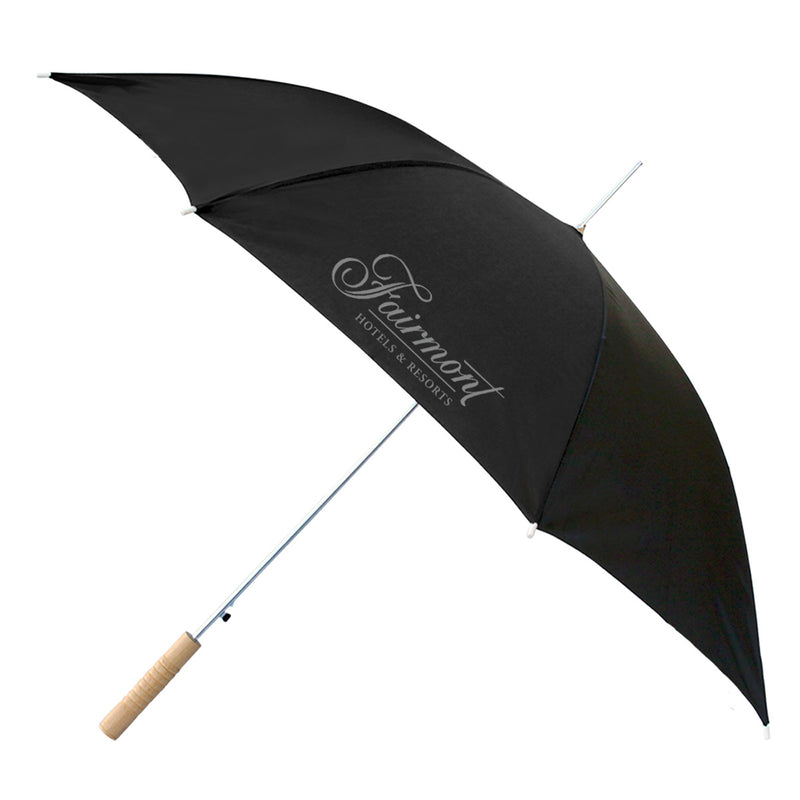 "48"" Auto Umbrella All Black"