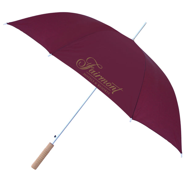 "48"" Auto Umbrella Burgundy"