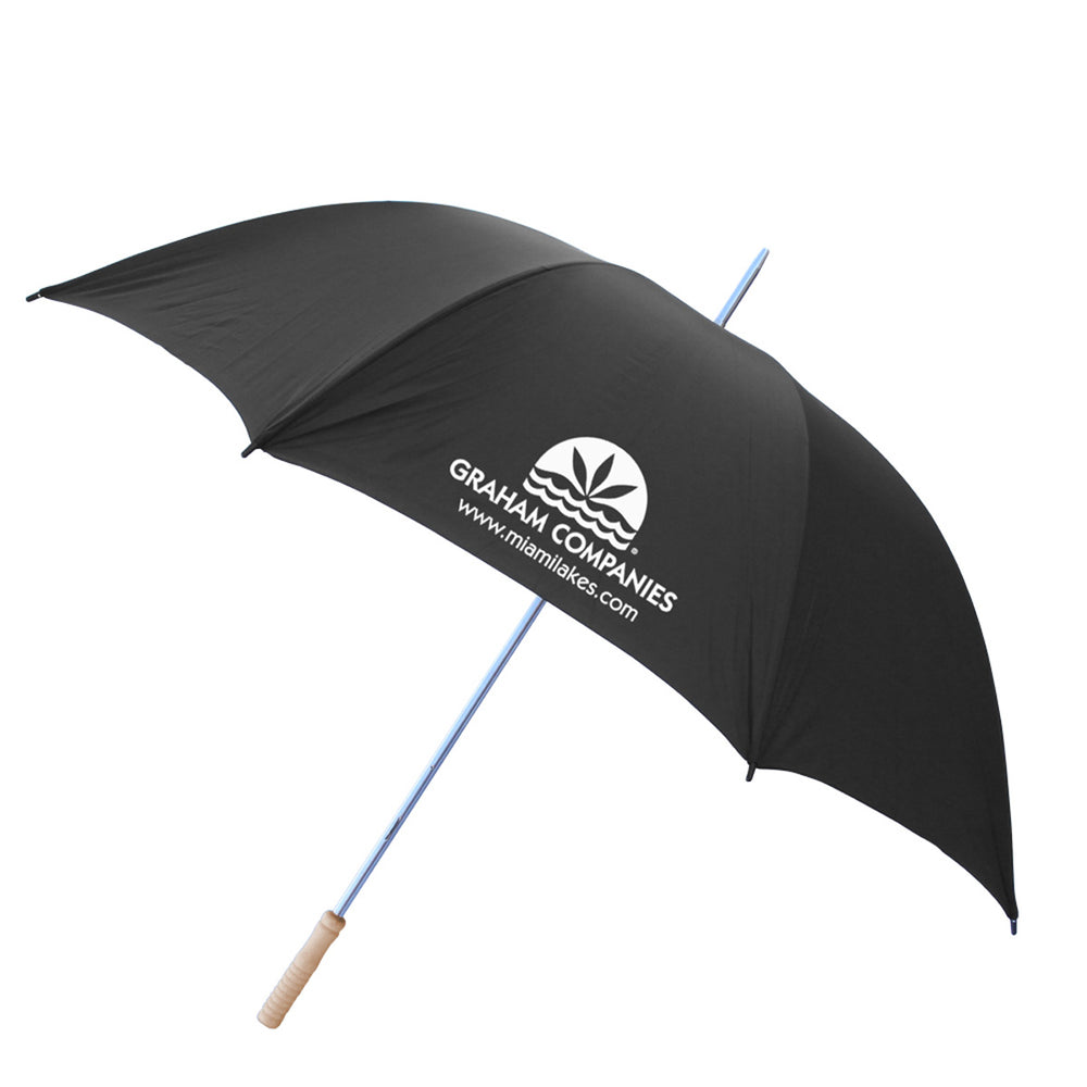 "60"" Windproof Umbrella Black"
