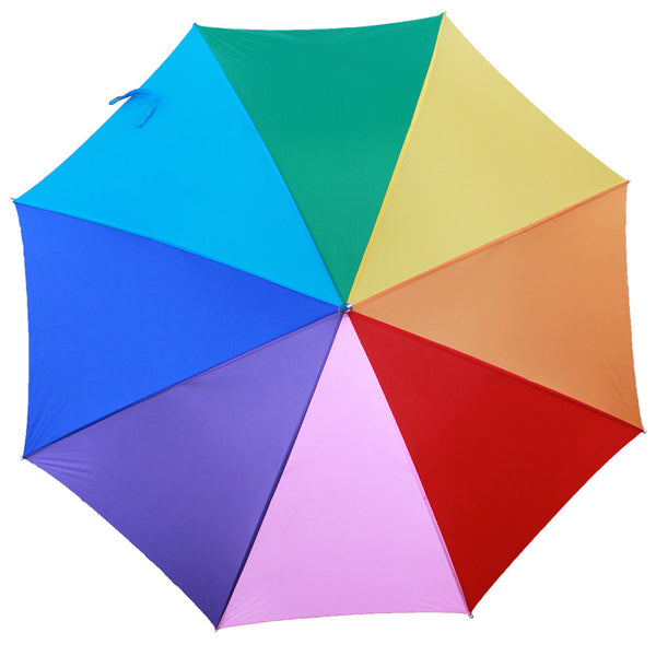 "60"" Windproof Umbrella 8 Color Rain"