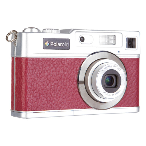 "Polaroid 18.1 MP HD Retro Leather DigiCam, 8x Opt, 2.4""Screen-END OF LIFE"