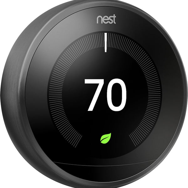 Nest 3rd Gen-Pro Thermostat - Carbon Black