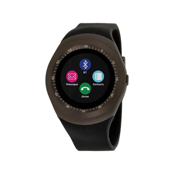 iTouch Wearables Curve Smart Watch - (Gunmetal and Black)