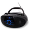 Portable Stereo CD Player with Stereo Radio and Bluetooth