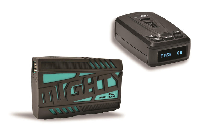 Whistler MIGHTY Jump Starter and Radar Detector Package