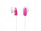 Sony E9LP/PNK - Headphones - ear-bud - 3.5 mm jack - pink