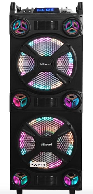 Billboard 2x12 Music System with lights