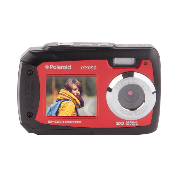 Polaroid 20.1 MP Waterproof/Shockproof Dual LCD Digital Camera