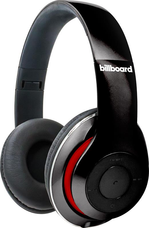 Billboard Bluetooth Over-Ear Foldable Headphones with Microphone