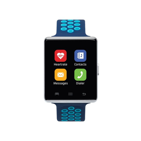 iTouch Wearables 41mm Air 2 Smart Watch - (Navy and Turq)