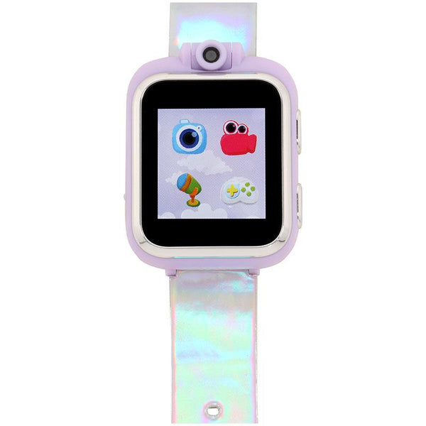 iTouch Wearables PlayZoom Kids Smart Watch with Holographic Print Strap
