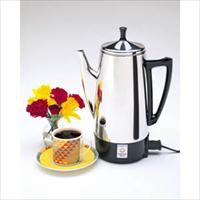 Presto - 12-Cup Stainless Steel Coffee Maker