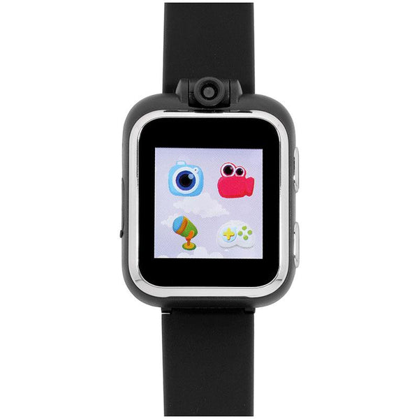 iTouch Wearables Kids PlayZoom Smart Watch with Black Strap