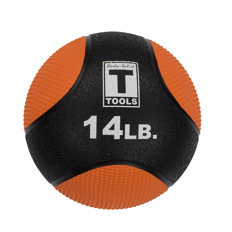 Body Solid Medicine Ball - 14 lb, Orange