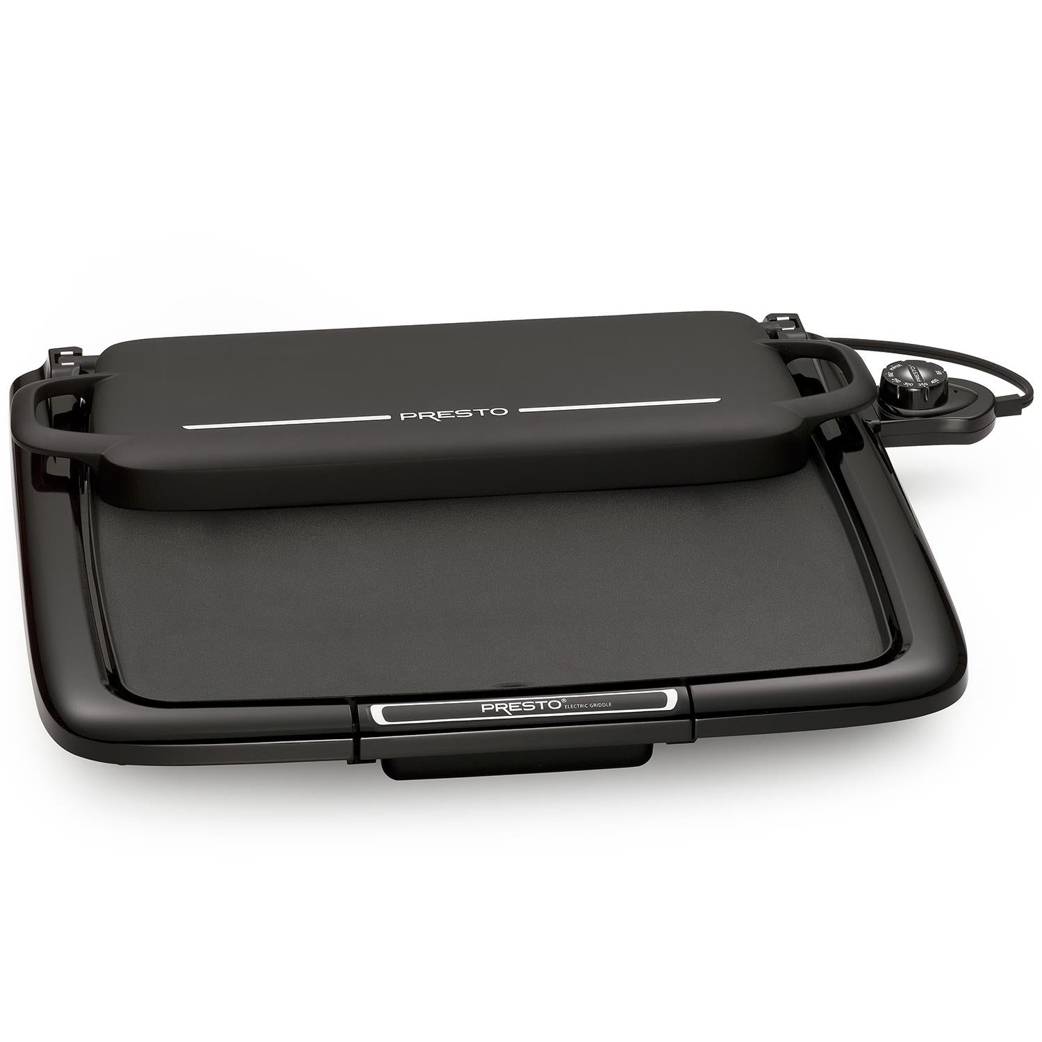 Presto - Cool-touch electric Griddle/Warmer Plus