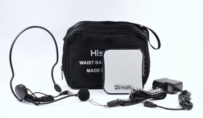 Hisonic Multi-function Waist Band PA System with FM Radio and Voice Recorder