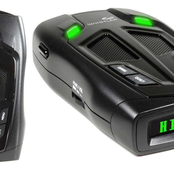 Whistler Bilingual Laser Radar Detector (ENG/SPANISH)