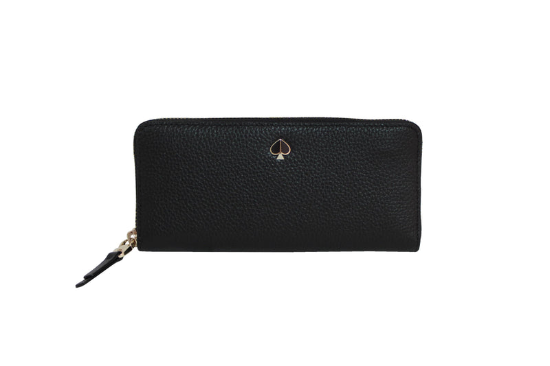 Kate Spade Polly Slim Continental Wallet - Black