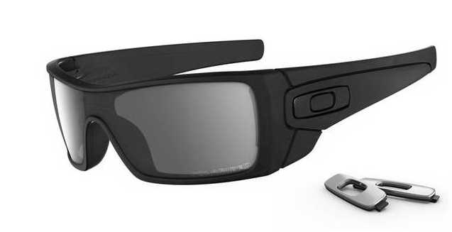 Oakley Batwolf Polarized Sunglasses - Matte Black