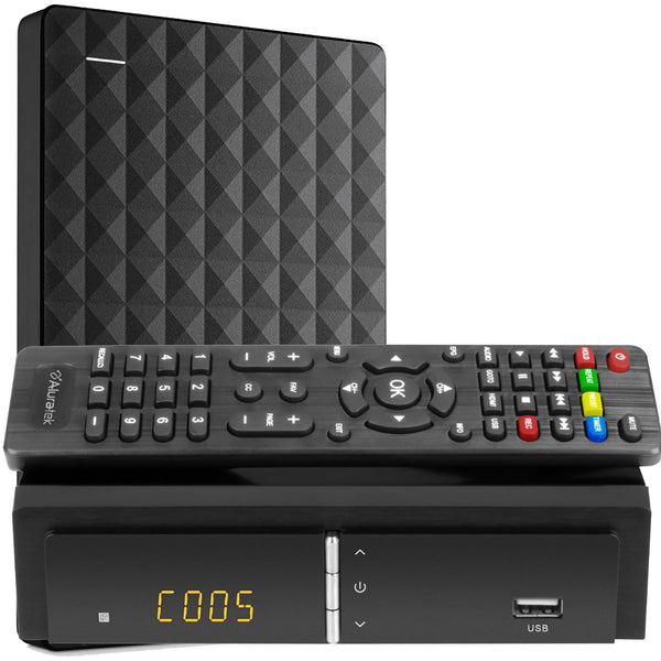 Digital TV Converter Box with Digital Video Recorder+ 1TB Hard drive