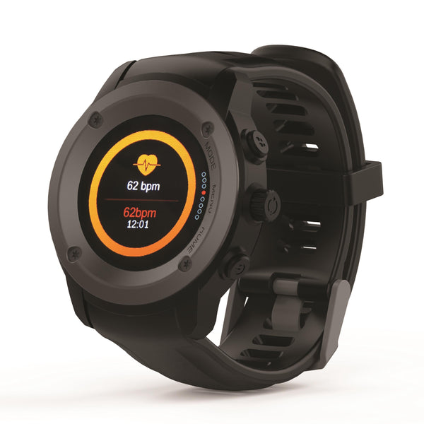 Supersonic Bluetooth Smartwatch w/ Heart Rate & GPS