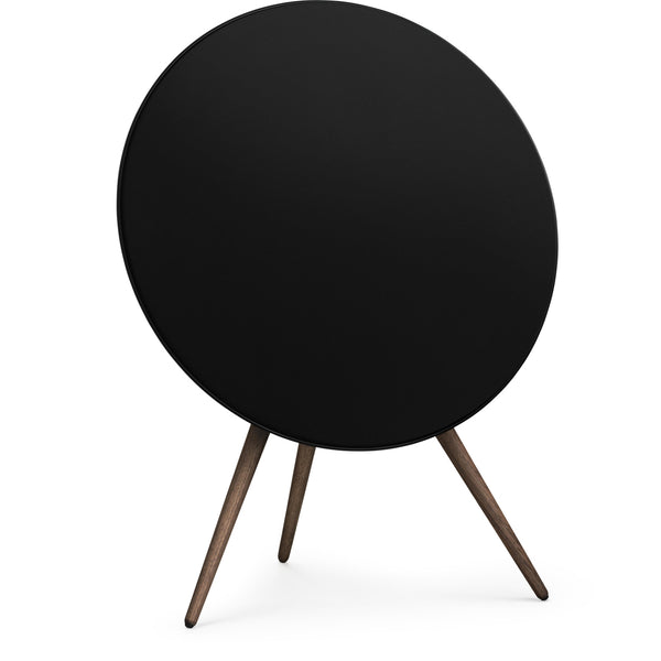 Bang & Olufsen BeoPlay A9 Home Speaker Black with Walnut Legs