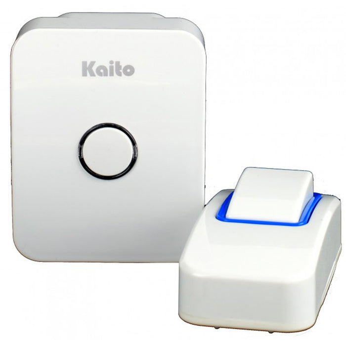 Kaito Wireless Doorbell, No Battery Needed/Self-Powered, Plug&Play Receiver w/25 Chimes, Waterproof