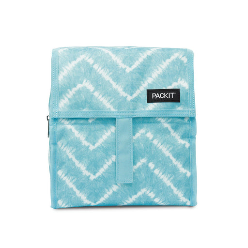 Aqua Tie Dye Lunch Bag