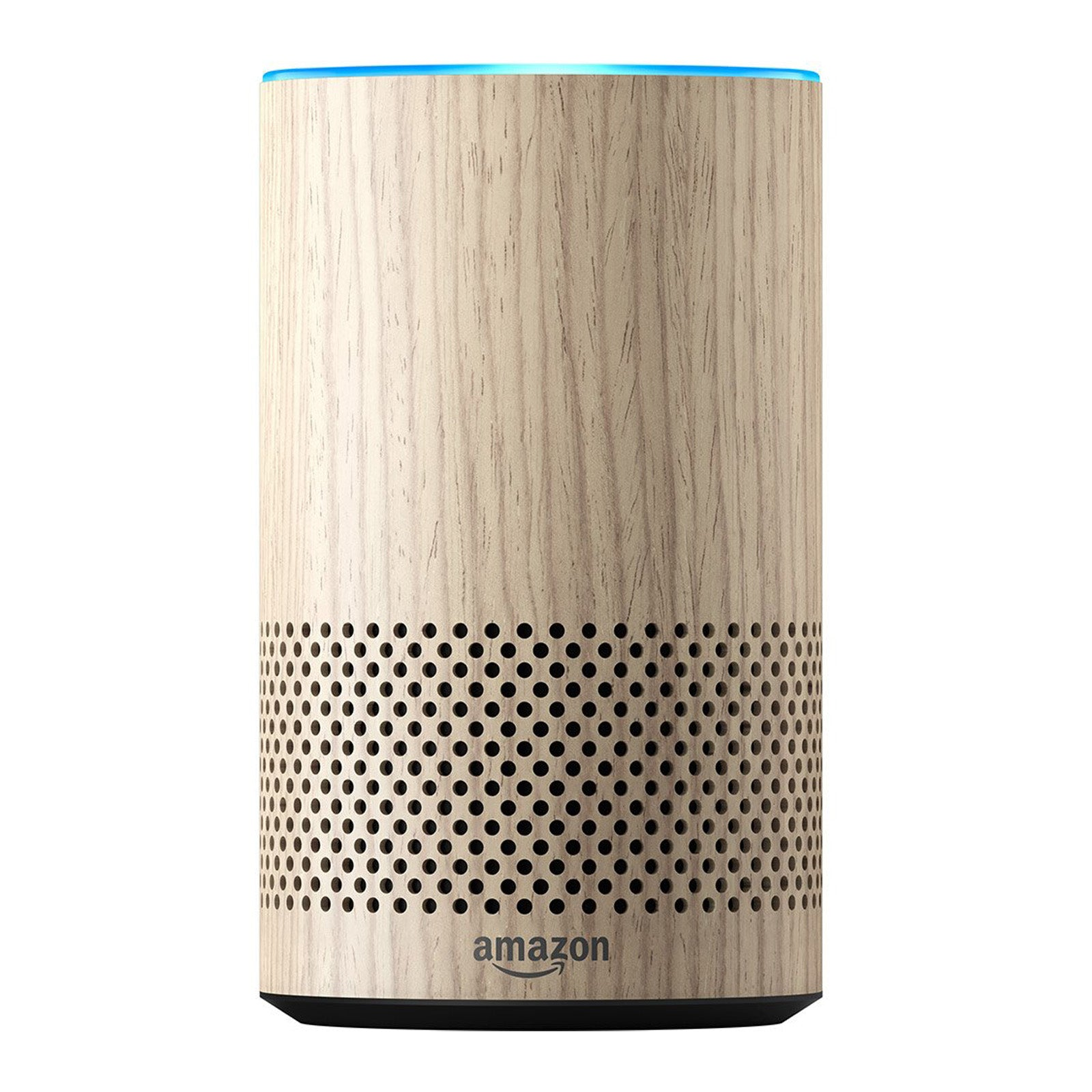 Amazon Echo 2nd Generation Smart Speaker with Alexa - (Oak Finish)