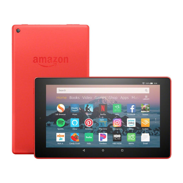 Amazon 8 - Inch Fire HD Tablet 32 GB - (Punch Red)