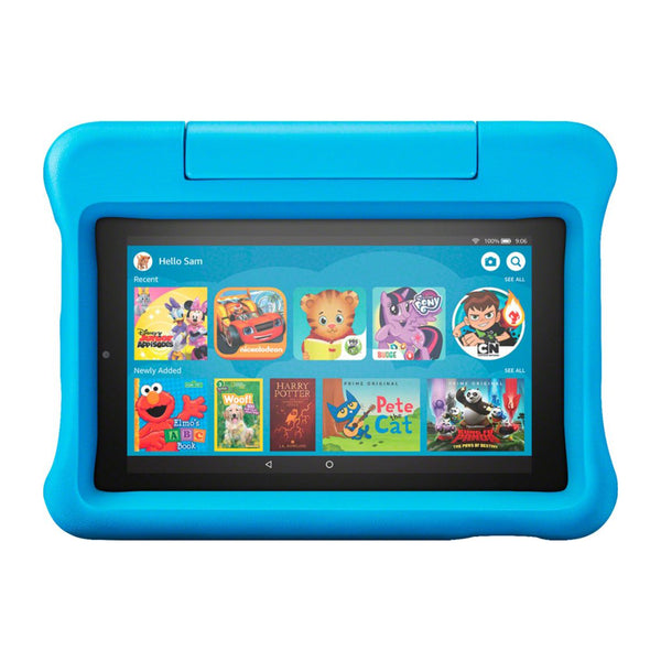 Amazon 7 - Inch 16GB Fire 7 Kids Tablet - (Blue)