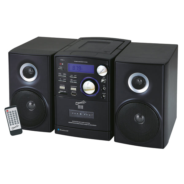 Supersonic Portable Audio System w/Bluetooth