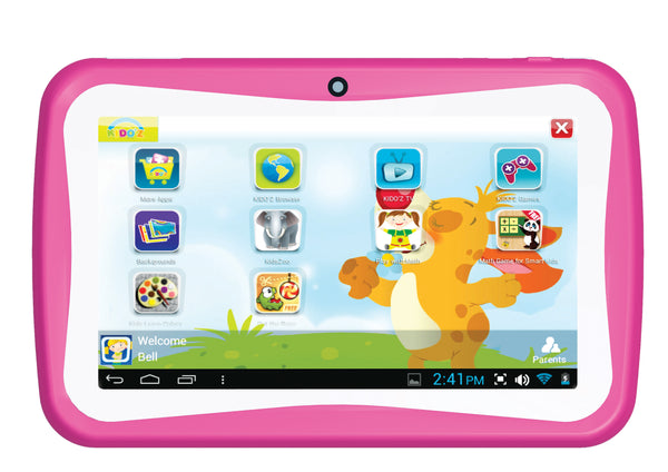 "Supersonic 7"" Android Dual Core Kids Tablet Pink"