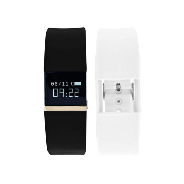 iTouch Wearables iFitness Tracker Watch - (Black and White)