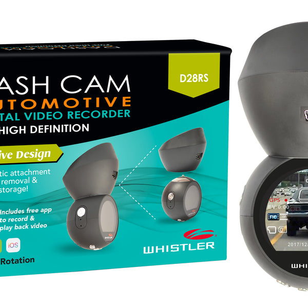 Whistler Dash Cam with GPS and WiFi
