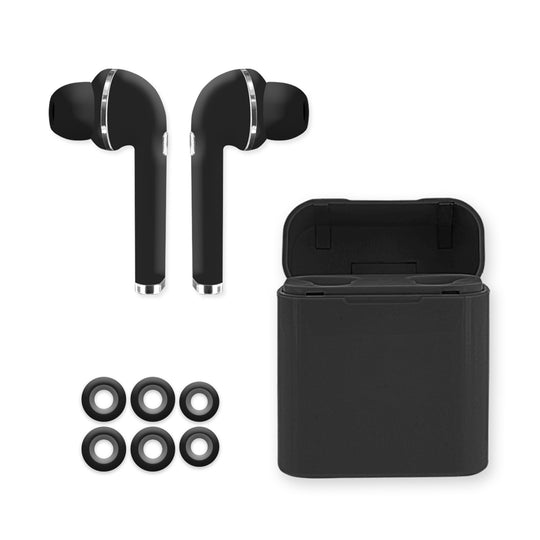 BLUETOOTH TRUE WIRELESS IN-EAR W/ RECHARGING CASE
