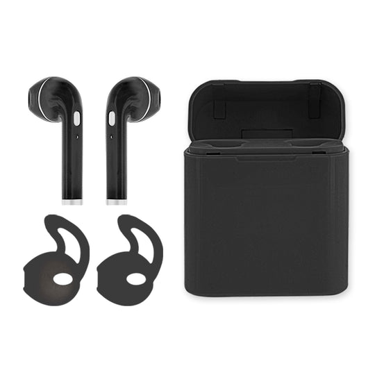 BLUETOOTH TRUE WIRELESS W/ RECHARGABLE CASE