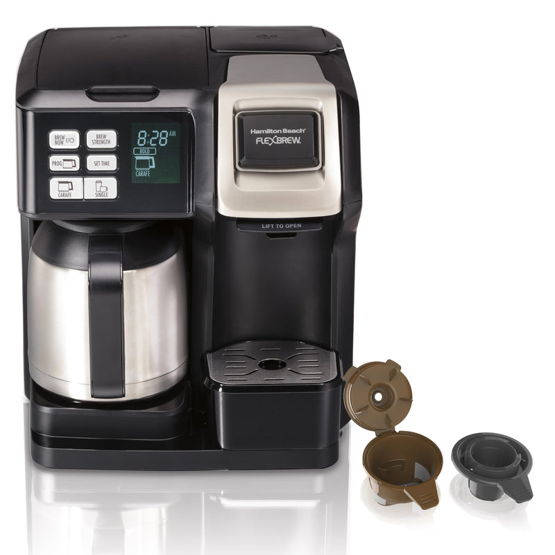 Hamilton Beach FlexBrew 2-Way Coffee Maker w/ Thermal Carafe