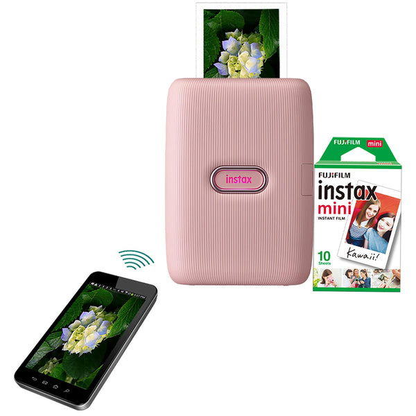 Instax Mini Link Smartphone Printer Dusky Pink