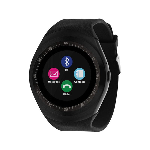 iTouch Wearables Curve Smart Watch - (Black)