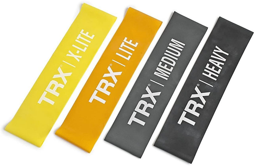TRX Training TRX Mini Exercise Bands (Set of 4)