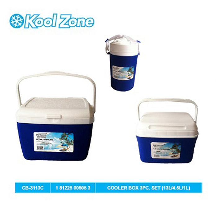 Cooler Box 3Pc. Set (13L/4.5L/1L)