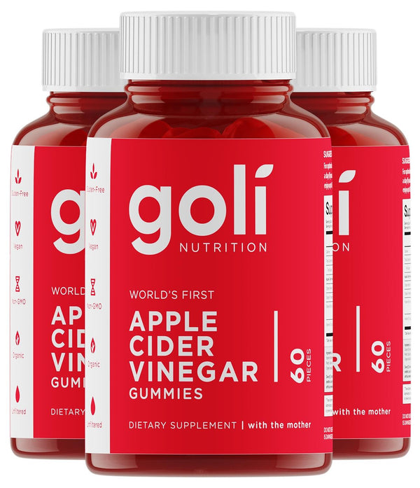 Goli Nutrition Goli Nutrition-Apple Cider Vinegar Gummy