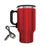 Electric Coffee Mug W/ Wire Car Plug Red