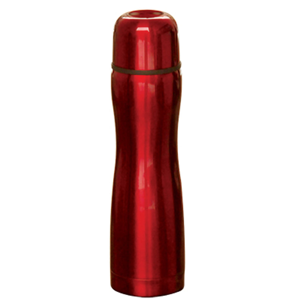 0.5L Vacumm Flask With Red Coating