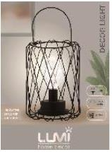 Vivitar Cage Light with Handle Decor Light