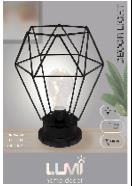 Vivitar Diamond Cage Decor Light