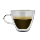 Kalorik Set of 4 Double wall Glass Coffee Cups