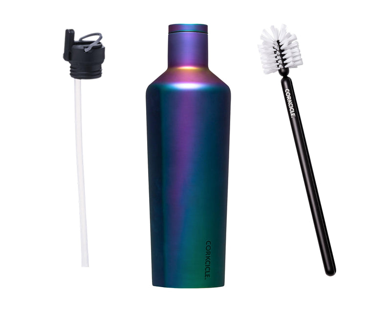 25oz Canteen w/Bottle Brush & Canteen Cap w/Straw - Dragonfly